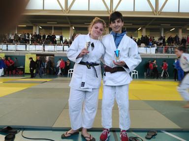 Judokas premiados
