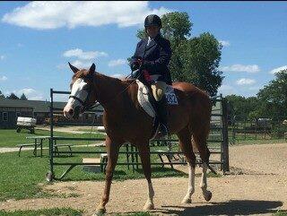 She rides like a dream.