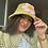 Thumbnail: Crocheted flower hat