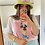 Thumbnail: Crocheted flower power hat- PDF pattern