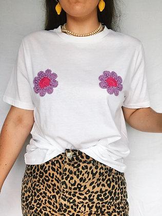 Flower power T-shirt (Medium)