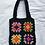 Thumbnail: Crocheted granny squares tote bag- PDF pattern