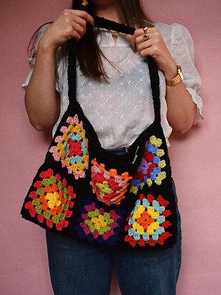 Granny squares bag