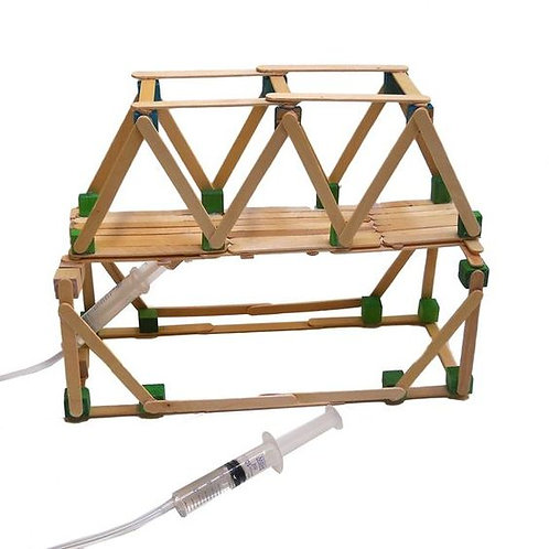 Hydraulic Bridge STEM Toolbox (15 kits per box)