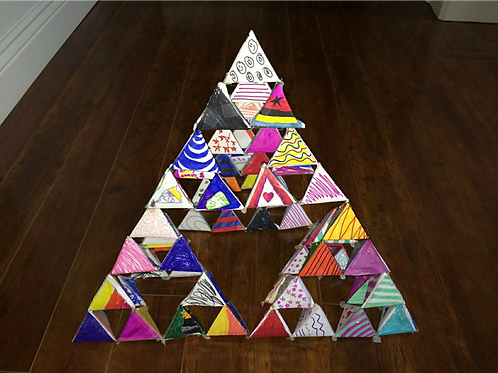 Sierpinski Pyramid STEM Toolbox (15 kits/box)