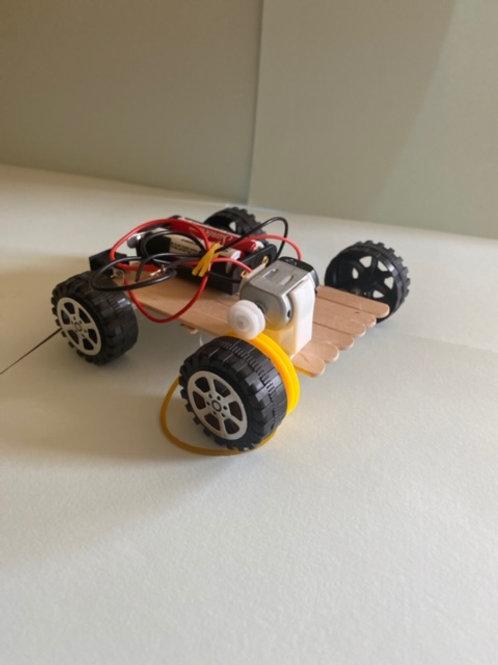 Battery Powered Car STEM Kit