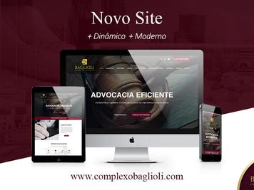 Complexo Jurídico Baglioli apresenta novo site