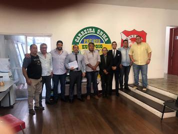 Complexo Jurídico Baglioli reúne com diretoria do SINDPOL/PA para apresentação de parceria