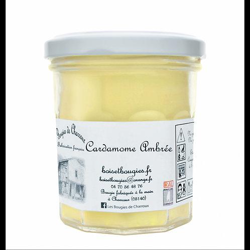 Bougie de Charroux  180 gr- Cardamome Ambrée