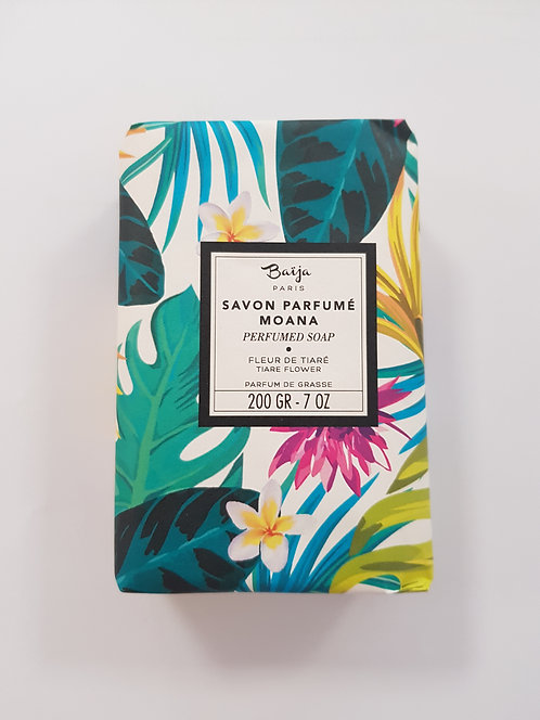 Savon parfumé moana (fleur de tiare)