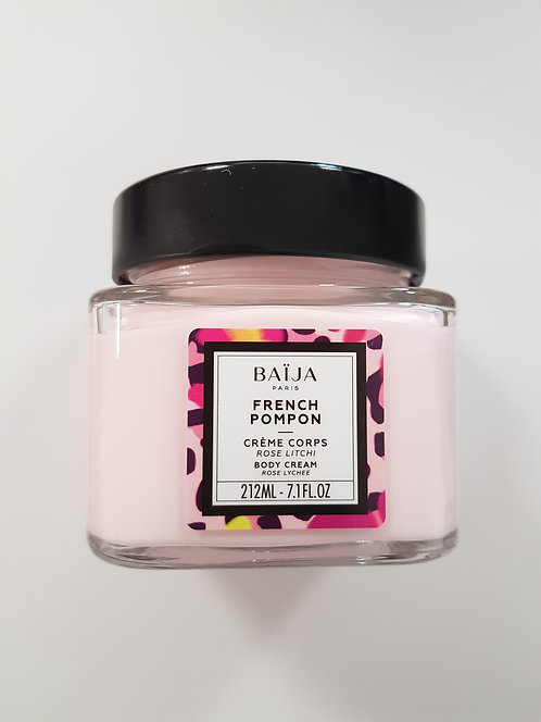 Crème corps french pompon (rose litchi)