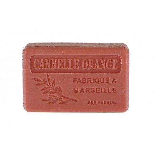 Savon cannelle - orange
