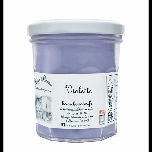 Bougie de Charroux - Violette 270 gr