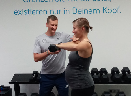 Training während der Schwangerschaft