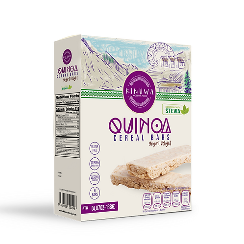 Quinoa Cereal Bars Yogurt