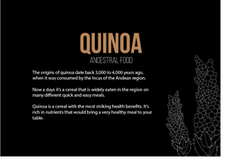 Quinoa - Ancestral Food