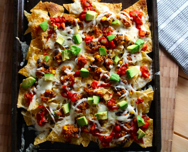 Loaded Quinoa Nachos
