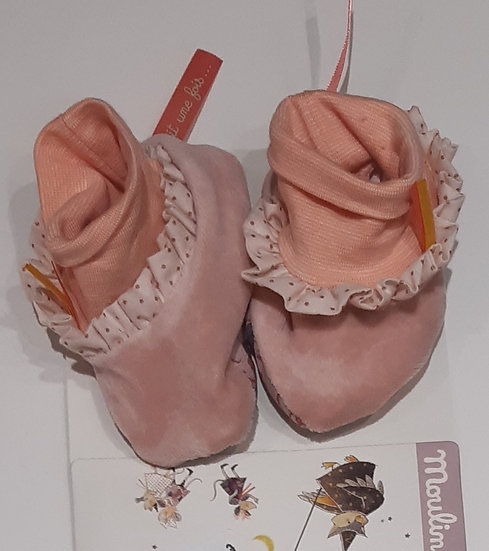 Chaussons Rose