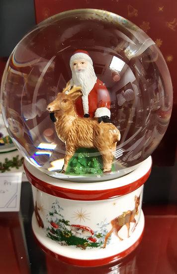 Boule de Neige,  Père Noël.