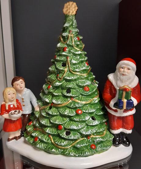 Père Noël sur le Sapin