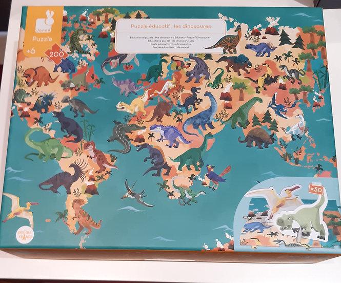Puzzle Educatif : Les Dinosaures