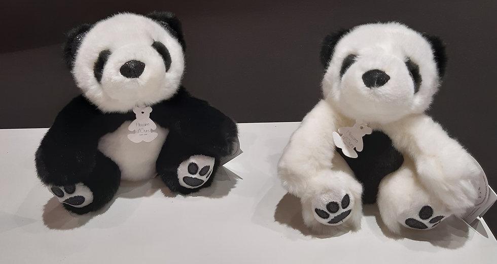 So Chic Panda blanc ou noir 17 cm
