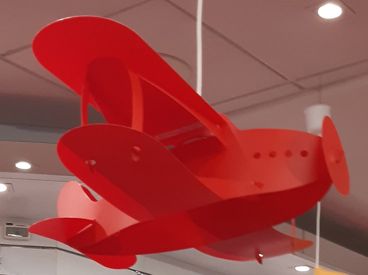 Lampe Suspension Avion