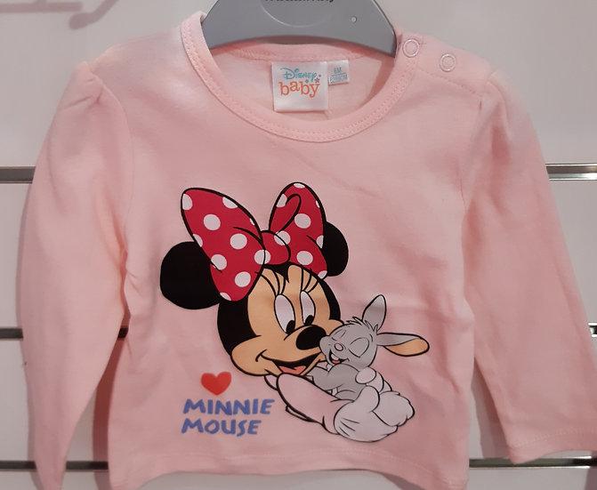 Tee-shirt Minnie baby