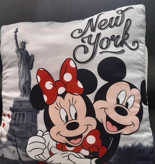 Coussin Mickey et Minnie.