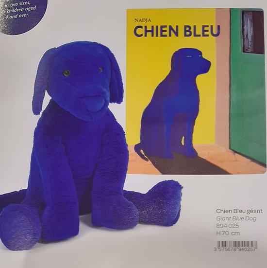 Chien Bleu Géant 70 cm Ecole des Loisirs