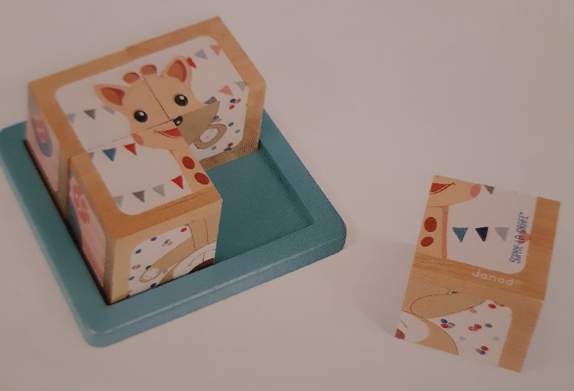 Cubes Sophie la Girafe