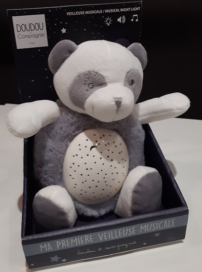 Veilleuse Panda musique- 3 lumières