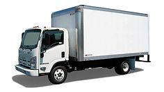 Box Truck Deliver Vehice