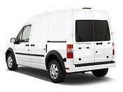 Cargo Van Courier Vehicle