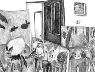 Maria Calandra: Pencil In The Studio