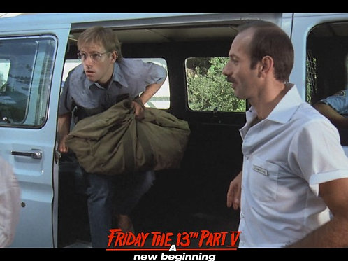 Bob DeSimone Friday the 13th Part V - With Tommy 8X10