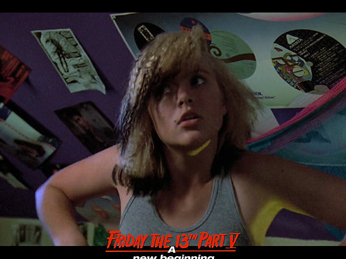 Tiffany Helm as Violet Friday the 13th Part 5 - Dance 1 Arms Down 8