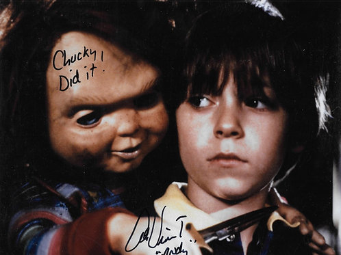 Alex Vincent signed 8X10 Knife