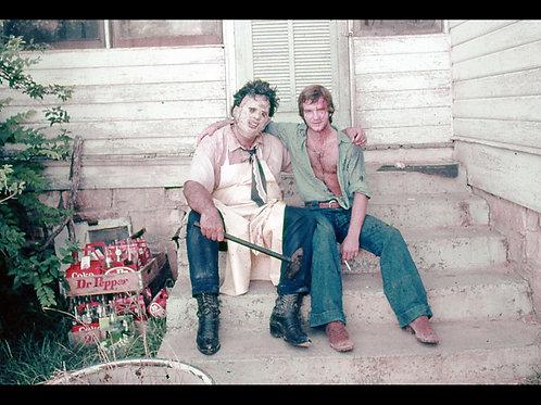 Bill Vail The Texas Chainsaw Massacre - With Gunnar Hansen - 8X10