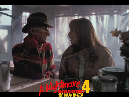 Lisa Wilcox - NOES 4 - Alice With Freddy 1 - 8X10