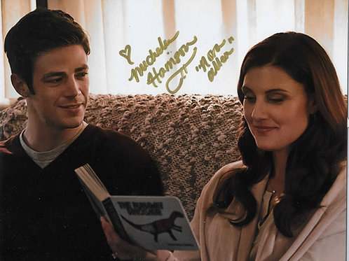 Michelle Harrison signed 8X10 with Flash