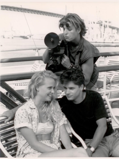 Brooke Theiss - Class Cruise with Billy Warlock and Michael DeLuise 8X10
