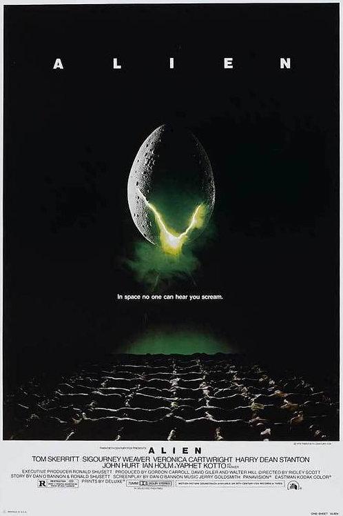 "Alien 24""X36"" Poster"
