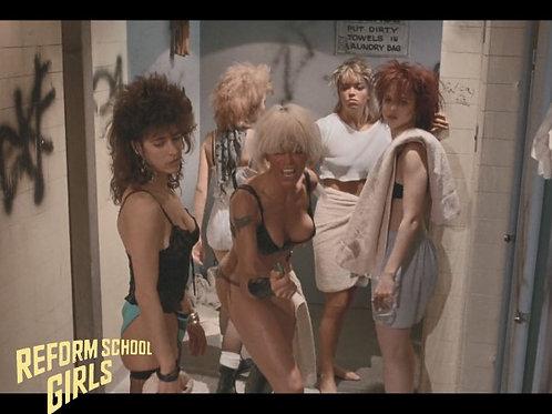 Tiffany Helm and Darcy DeMoss Reform School Girls - Bathroom Group 8X10