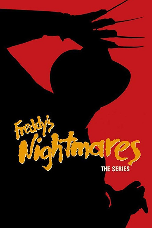 11X17 Freddy's Nightmares Poster - Signed by Multiple Cast Members