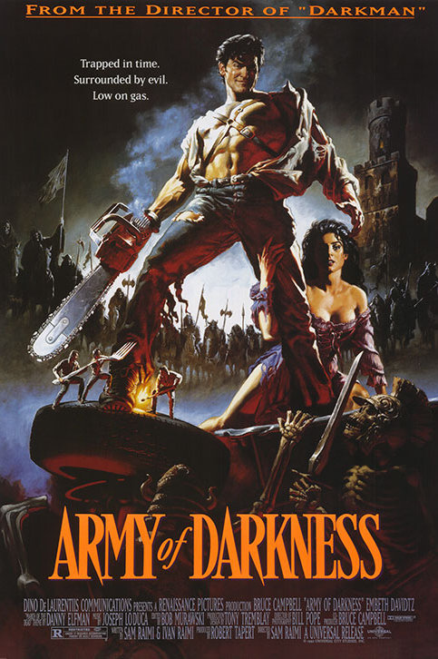 "Army of Darkness 24""X36"" Poster"