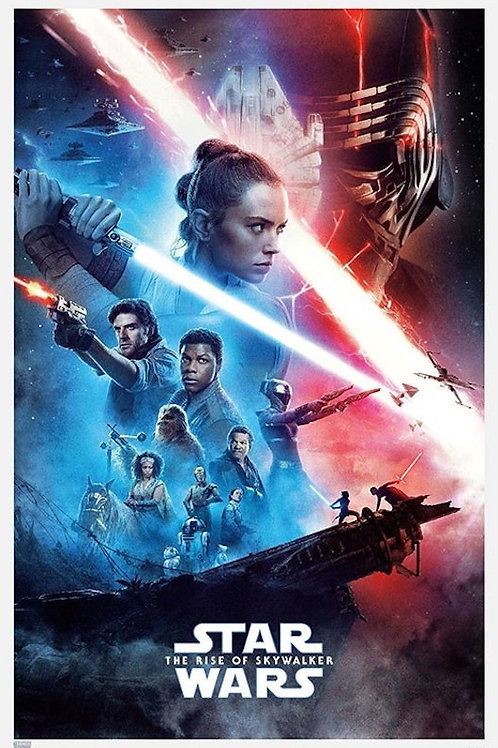 "Star Wars Rise of Skywalker 22""X34"" Poster"