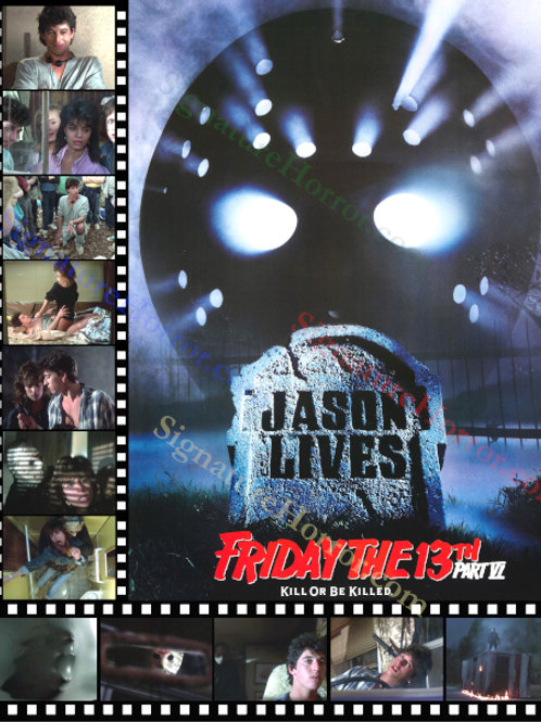 Darcy DeMoss and Tom Fridley - Jason Lives: F13th Part 6 - Collage - 8X10