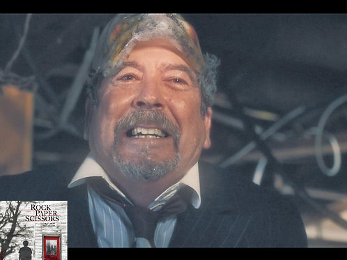 John Dugan Rock Paper Scissors - Mask Up Laughing - 8X10