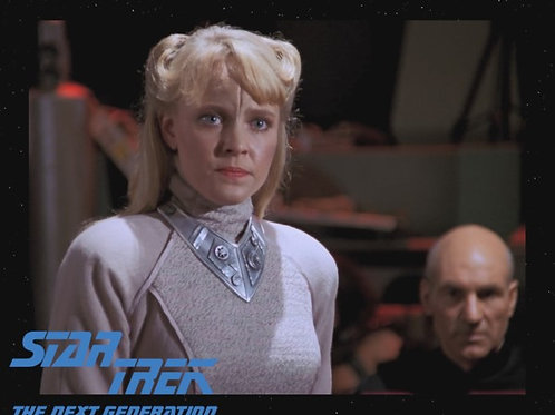 Lisa Wilcox - Star Trek: TNG - With Picard 2 - 8X10